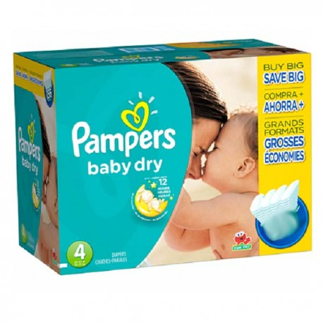 264 couches pampers baby dry taille 4 petit prix sur - Prix couches pampers baby dry taille 4 ...