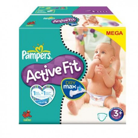 280 couches pampers active fit taille 3 en promotion sur - Couches pampers active fit taille 4 giga pack ...