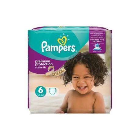 64 couches pampers active fit taille 6 petit prix sur couches center - Couches pampers active fit taille 5 ...