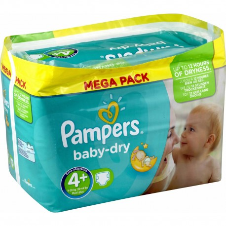 210 couches pampers baby dry taille 4 moins cher sur - Prix couches pampers baby dry taille 2 ...