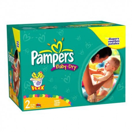 396 couches pampers baby dry taille 2 bas prix sur couches center - Couche pampers baby dry taille 3 ...