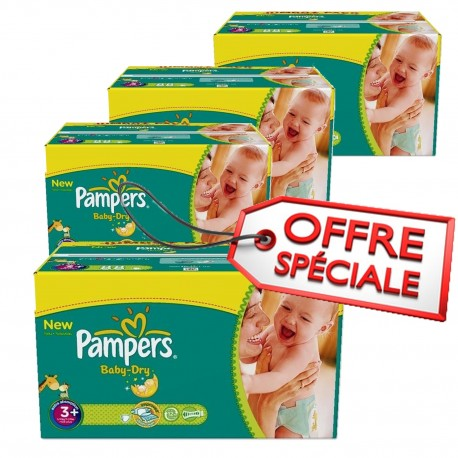 680 couches pampers baby dry taille 3 pas cher sur couches center - Couches pampers pas cher taille 2 ...