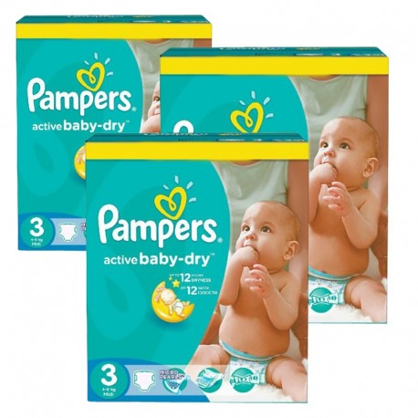 296 couches pampers active baby dry taille 3 pas cher sur couches center - Couche pampers baby dry taille 3 ...