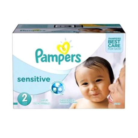 360 Couches Pampers New Baby Sensitive Taille 2 A Bas Prix Sur