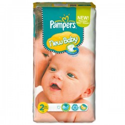 Couches Pampers New Baby Taille 2 Sur Couches Center
